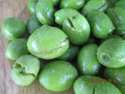 Măsline verzi natur cultivate fără pesticide și fertilizanți